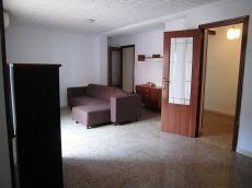 Alquiler piso 3 habitaciones semi amueblado calle forata