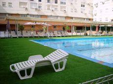 Sevilla Este, piso amueblado, garaje, piscina.