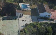 Alquiler Malaga a 17 kms centro Malaga finca con dos casas