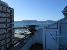 Terraza y vistas al mar en pleno centro