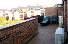 Parquerozas, �tico 2 dorm, 2 ba�os, terraza 25 m