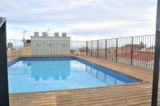 Piso amueblado de 1Hab con piscina en Semicentro