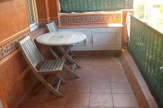 Atico con terraza reformado y semiamueblado