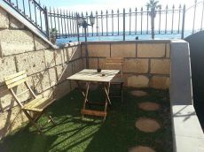 Adosado en primera l�nea de mar, garaje, terraza, piscina