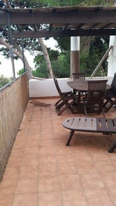 Planta baja con patio 3 hab muebles