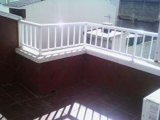 Vivienda con terraza zona hospital provincial
