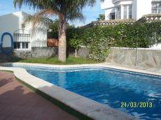 Se alquila chalet con piscina en Campito