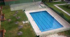 Piso de 55m2 con garaje, jard�n y piscina