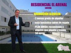 Alquiler piso piscina y terraza Lucena