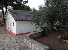 Casa con terreno en alquiler