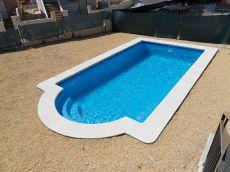 Chale independiente con piscina