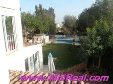 Chalet en alquiler con piscina privada en la Nucia
