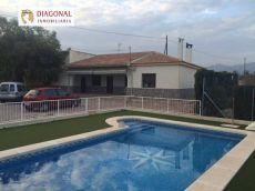 Alquiler casa jardin y piscina Crevillent