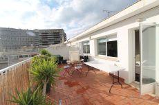 �tico estudio con terraza de 30 m2