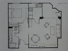 Amplio apartamento zona nervi�n