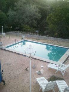 Chalet independiente en parcela de 1850m2 con piscina. Amueb