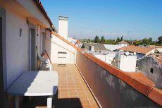 �tico de 1 dormitorio con terraza y vistas