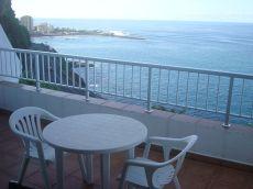 Estudio Equipado, terraza vistas al mar