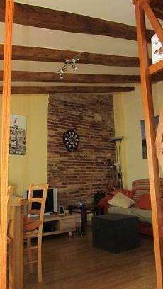 Piso de alquiler con muebles con encanto en la Part Alta