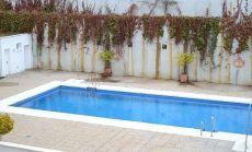 Hermoso piso amueblado con piscina en serrallo