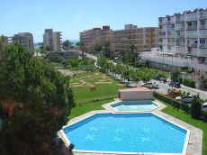 Estudio en recinto privado con piscina y a 150 metros playa