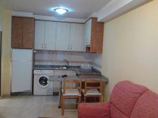 Apartamento amueblado de 1 dormitorio en Conxo