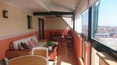 Atico 120 m2 con 50 m2 de terraza, 3 dorm, 2 ba�os, garaje