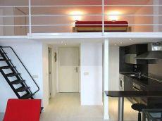 Precioso loft con cocina y dormitorio independiente preciso