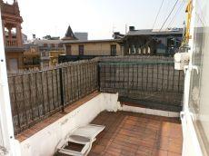 Atico de 2 habitaciones con terraza