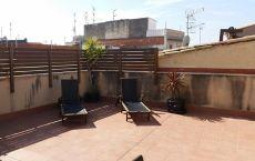 Espectacular piso centrico con gran terraza amueblado