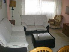 Apartamento amueblado de 2 dormitorios. Mobiliario nuevo