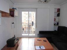 Alquiler piso amueblado 3habitaciones san marcelino valencia