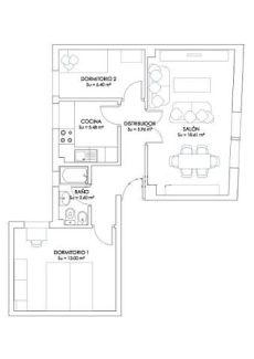 Precioso piso de 2 dormitorios