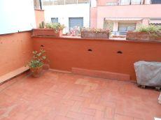 Piso con terraza de 10 m2