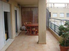 Piso amueblado de 3 dormitorios con terraza, gar y trastero
