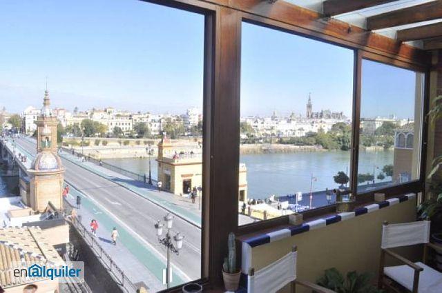 Alquiler casa ascensor y terraza triana 3665285 for Alquiler de casas en sevilla particulares