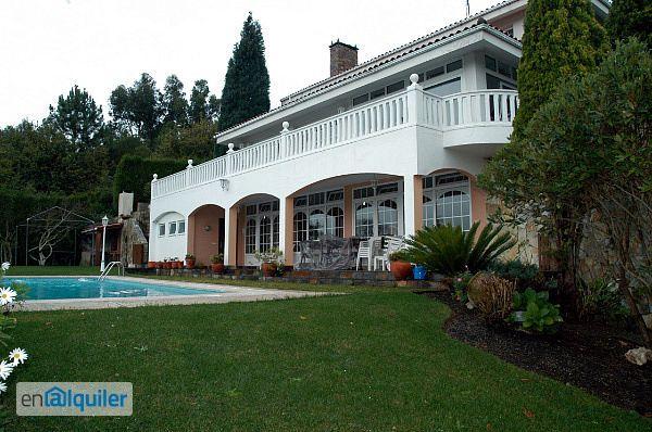 Alquiler casa amueblada terraza cambre 2523534 - Alquiler pisos cambre ...