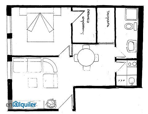 Apartamento amueblado calle la parra centro teruel 2809852 - Pisos alquiler teruel ...