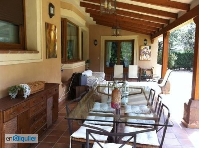 Alquiler casa piscina alpedrete 4140019 for Alquiler piso guadarrama