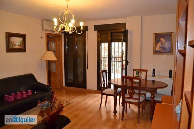 Alquiler piso terraza y aire acondicionado Centro