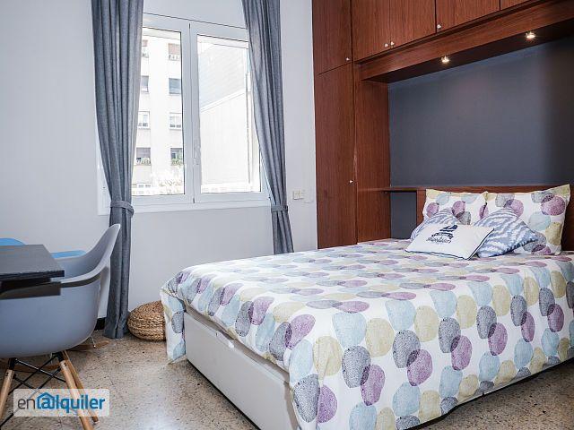 Habitaci n doble exterior en vivienda compartida 4800014 for Alquiler habitacion compartida