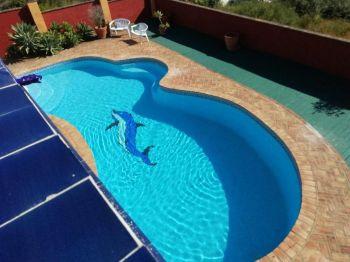 Alquiler casa piscina Sierra bermeja (Casares, Málaga)